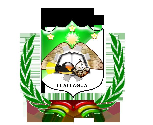 Escudo de Llallagua y su Bandera