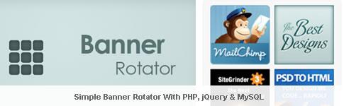Simple banner rotator con php jquery mysql donovan - Jquery rotate div ...